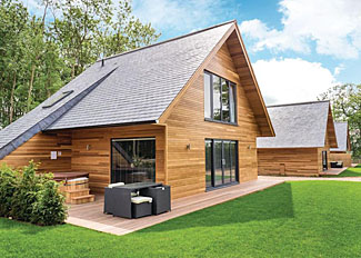 Pocklington Deluxe Lodge setting ( Ref LP8040 ) Self Catering Lodge Accommodation at Pocklington in Yorkshire England
