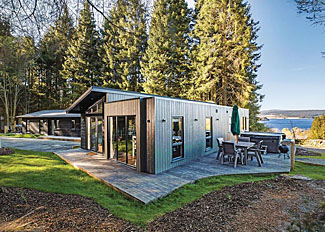 Landal Kielder Holiday Lodges - Beech Platinum Stars Lodge setting ( Ref LP14160 ) - Self catering accommodation in Northumberland England
