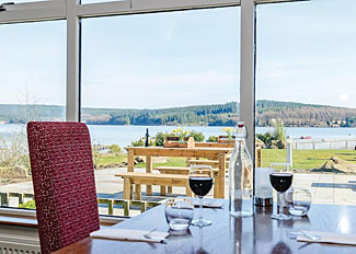 Restaurant at Landal Kielder Waterside Lodges - Holiday Park in Northumberland England