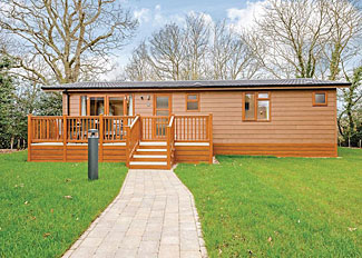 Hazel 3 Lodge setting ( Ref LP14230 ) Wareham Forest holiday lodge near Wareham Dorset England