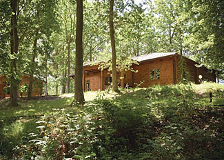 Woodland Hawthorn Lodge ( Ref LP5894 ) at Woodland Park Lodges - Self catering accommodation near Ellesmere Shropshire