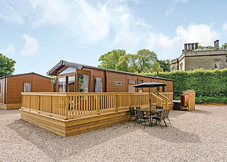 Aspen Holiday Home ( Ref LP14439 ) Self Catering Lodge Accommodation at Calthwaite Hall Holiday Park near Penrith England