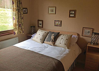 Double bedroom at Osprey Lodge ( Ref LP15388 ) Clear Sky Lodges Kielder - Northumberland Holiday Lodges