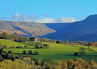 Beautiful local area near Dovestone Lodges - Greenfield village Holiday Lodges in Lancashire England