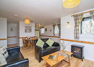 Heather 3 Lodge living area ( Ref LP11490 ) Kiltarlity Holiday Lodge Northern Scotland