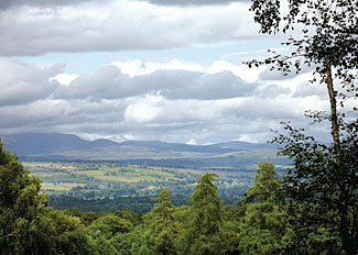 Park surroundings - Panoramic Scottish Highland views near Kiltarlity Lodges - Holiday Lodges near Beauly Scotland