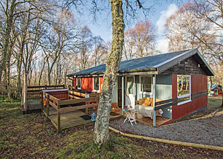 Thistle 3 Lodge setting ( Ref LP11492 ) at Kiltarlity Lodges near Beauly Scotland
