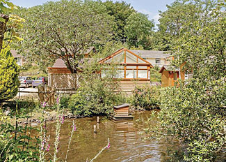 Lidden Premier Lodge ( Ref LP8769 ) at Leycroft Valley - Holiday Lodges near Perrancoombe North Cornwall England