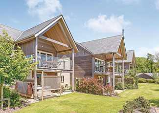 Poldon Lodge ( Ref LP6726 ) Self Catering Lodge Accommodation at Swandown Lodges in Somerset England